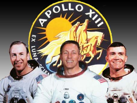 Apollo 13, Crew Portrait, High Eagle